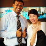 Mr. Sanoj Poulose, Food and Beverages Manager a.k.a Mixologist of Novotel Bangkok Ploenchit Sukhumvit
