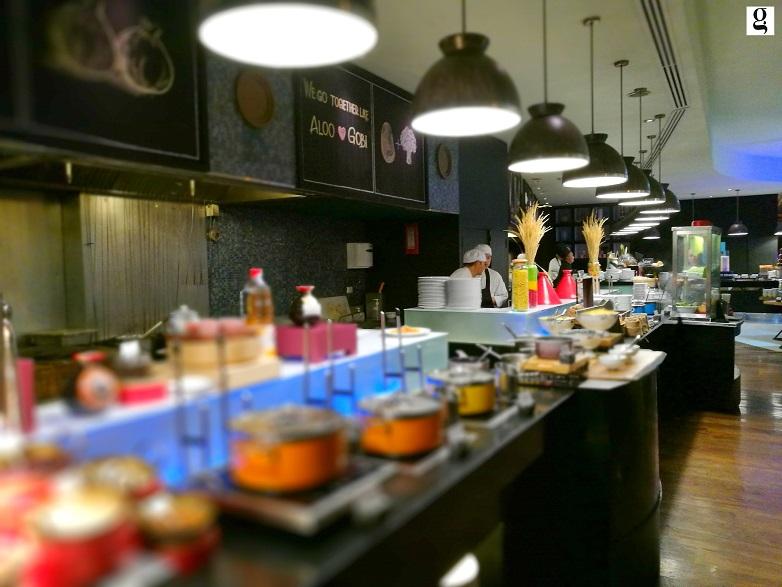 PRAWN buffet atelier pullman sukhumvit