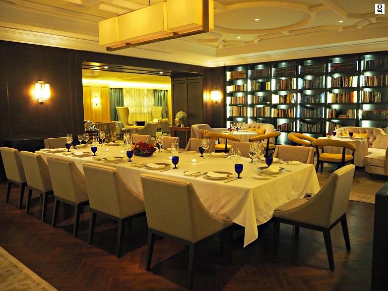The Library at The Ritz-Carlton Kuala Lumpur