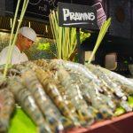 Seafood dinner buffet at Atelier at Pullman Bangkok Grande Sukhumvit