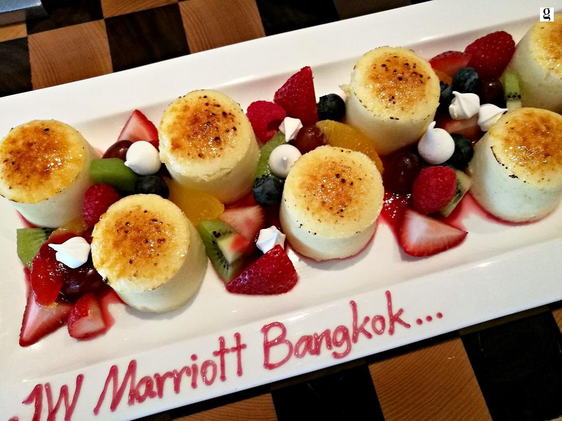 Sunday brunch JW Marriott