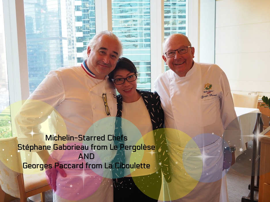 One-Michelin-Starred Chefs Stéphane Gaborieau and Georges Paccard