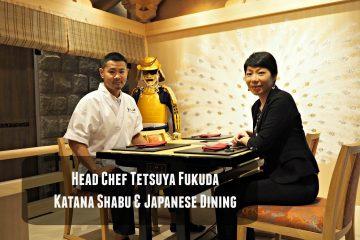 Chef Tetsuya Fukuda of Katana Shabu & Japanese Dining