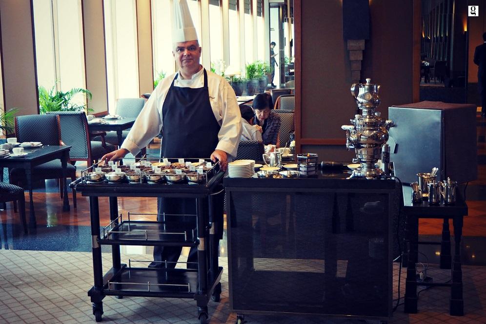 Chocolate Buffet Lobby Salon The Sukhothai