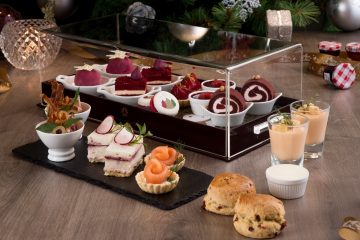 Festive Afternoon Tea at Up & Above Bar