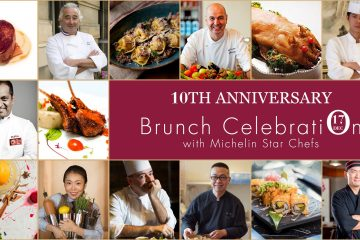 Tenth Anniversary Brunch Buffet Celebration with Our Michelin Star Chefs