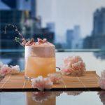 Sakura Blossom Cocktails at Up & Above Bar