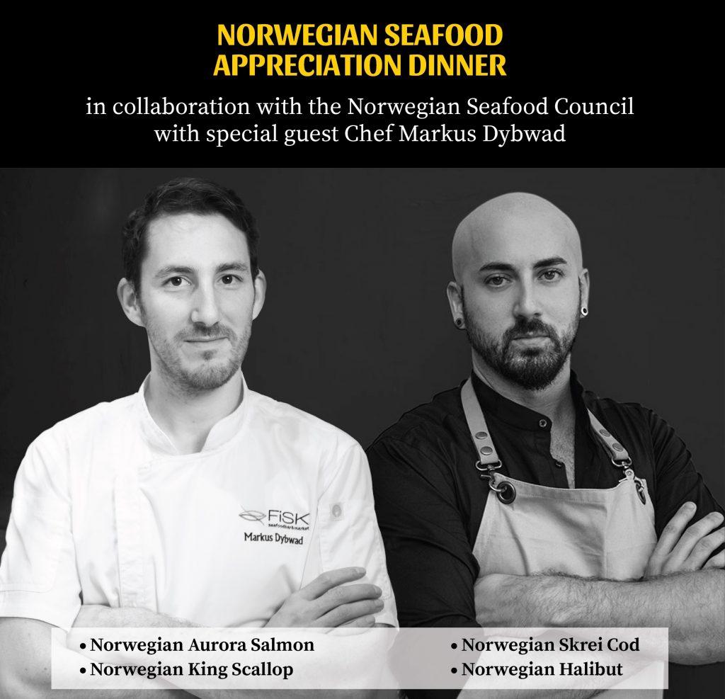 Norwegian Seafood Appreciation Dinner