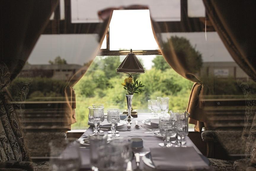 'Pop-up' dining events aboard Belmond British Pullman