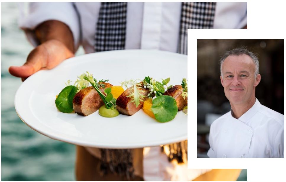 AWARD- WINNING SONG S AA PRIVATE ISL AND WELCOMES NEW EXECUTIVE CHEF