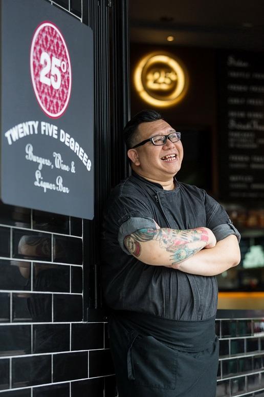 Chef Sam Chan Brings his Next Level Burgers to 25 Degrees Bangkok
