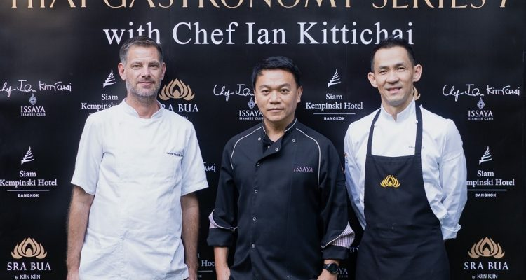 Sra Bua by Kiin Kiin unveils the exclusive collaboration of Thai gastronomy with Chef Ian Kittichai
