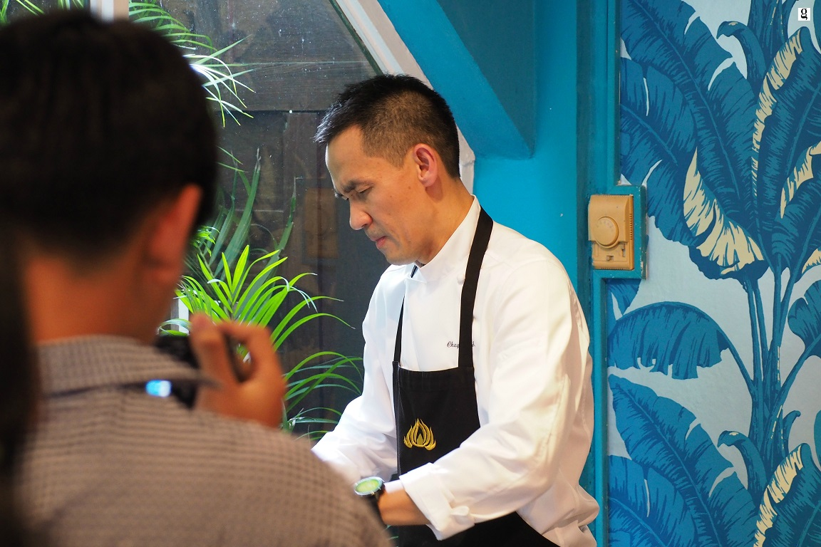 Thai Gastronomy Series I Sra Bu aby Kiin Kiin with Chef Ian Kittichai of Issaya Siamese Club