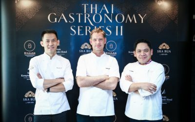 Sra Bua by Kiin Kiin presents exclusive collaboration with Chef Chumpol Jangprai in Thai Gastronomy Series II