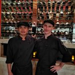 Tapas Vino Dynamic Duo Chefs: Maxime and Kiat