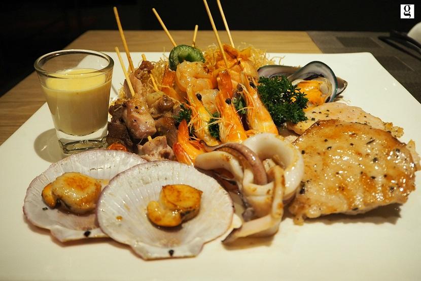bbq seafood and cheese dinner buffet at novotel platinum pratunam