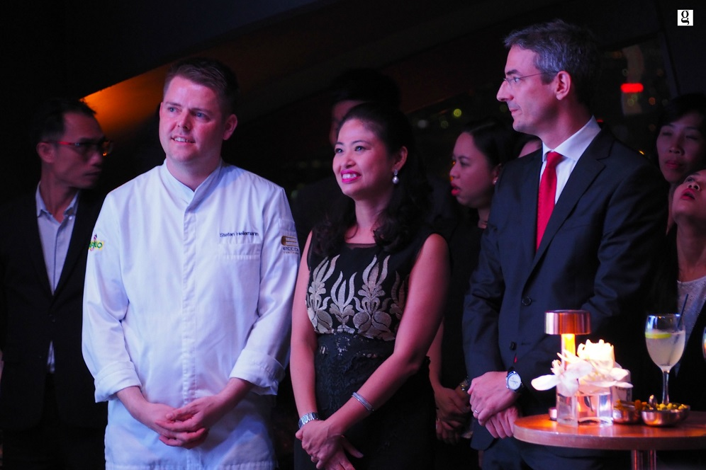 An Exclusive Engagement with Chef Stefan Heilemann of 2 Michelin-Star Restaurant ECCO
