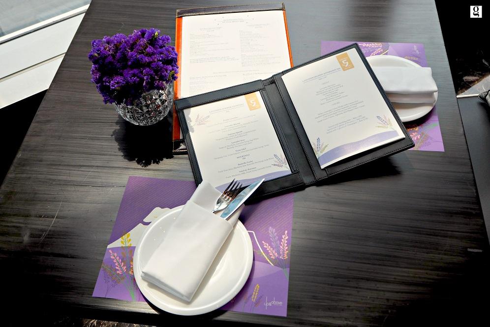 Okura Prestige Bangkok-Lavender Afternoon Tea