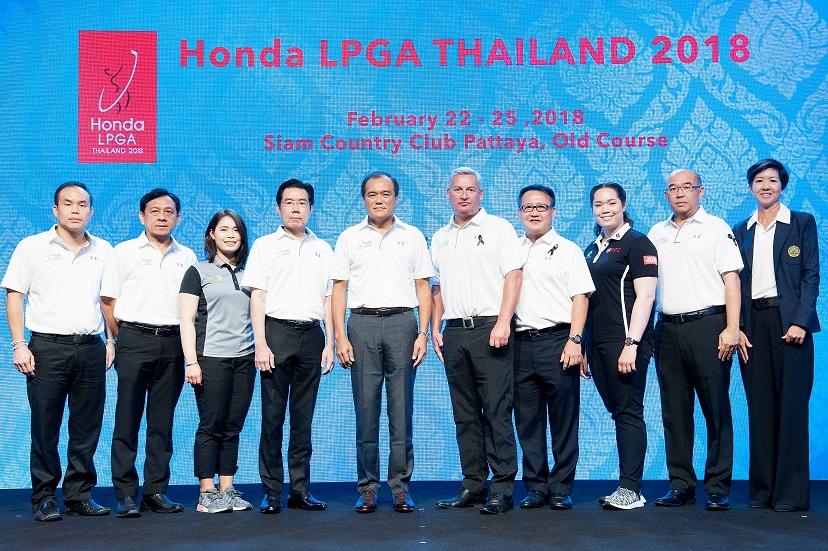 HONDA LPGA Thailand 2018 Scheduled for February 2018