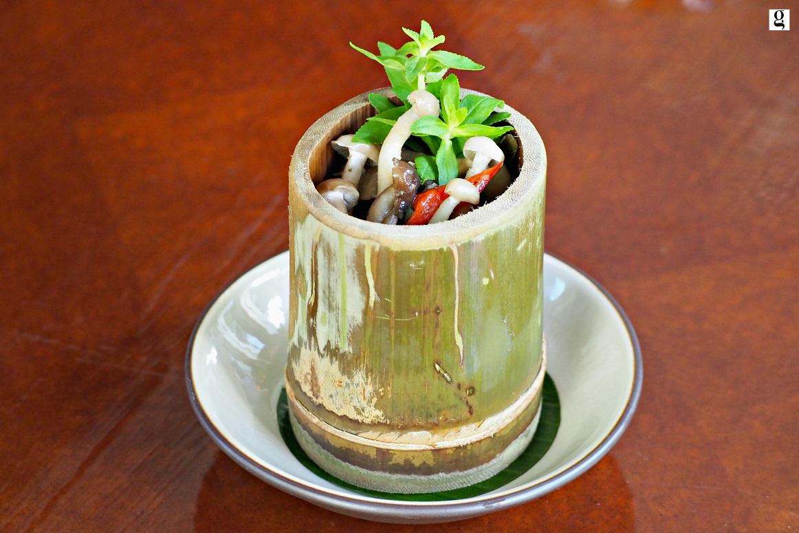 Celadon 12-course tasting menu by Chef Rossarin Sukhothai Bangkok