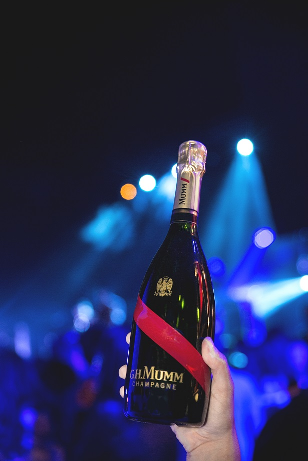 'G.H. Mumm' launches the latest blend of champagne, 'Mumm Grand Cordon'