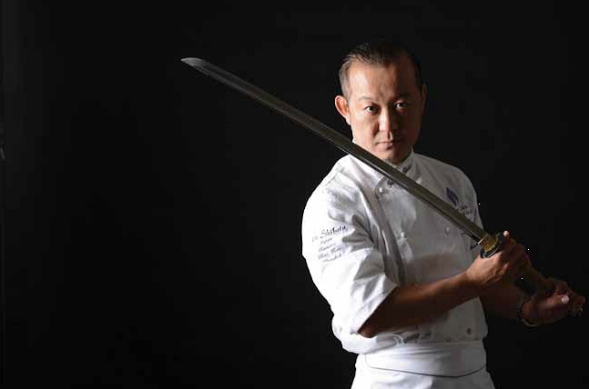 pastry chef Takeshi Shibata