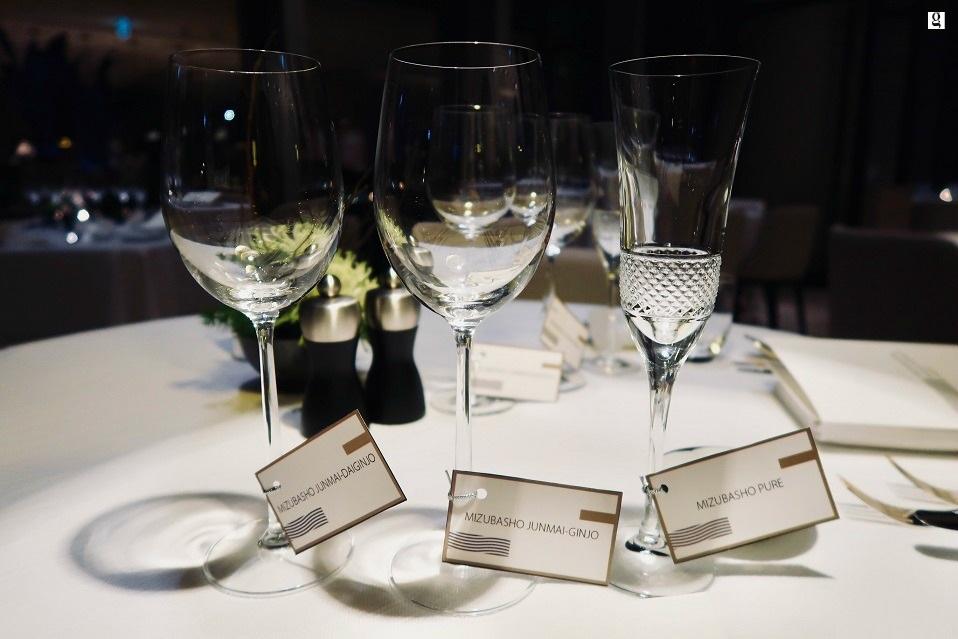 Mizubasho Sake Dinner at Embassy Room Park Hyatt Erawan